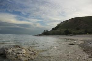 фото морского заката