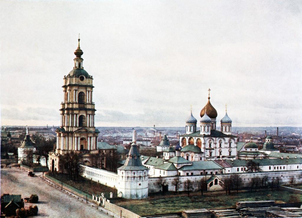 Новоспасский монастырь в Москве 1911-1912