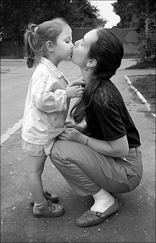 """Серия """"Поцелуй"""". Мать и дочь.1987"""