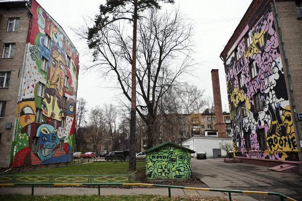 Дома на улице Изумрудной.М.Боярской