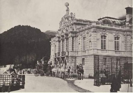 Замок Линдерхоф. Альберт, Йозеф