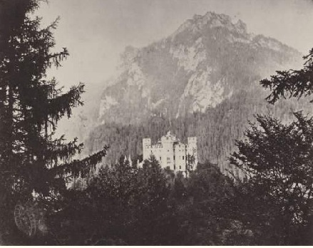 Замок Хоэншвангау. Альберт, Йозеф.1865