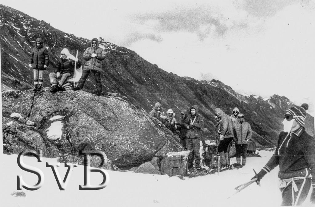 Посвящение в горные туристы.