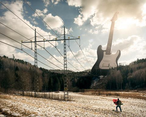 Электрогитара. Эрик Йоханссон  (Erik Johansson)