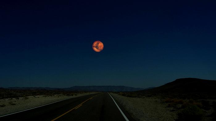 Рон Миллер. Фотоманипуляции. Марс