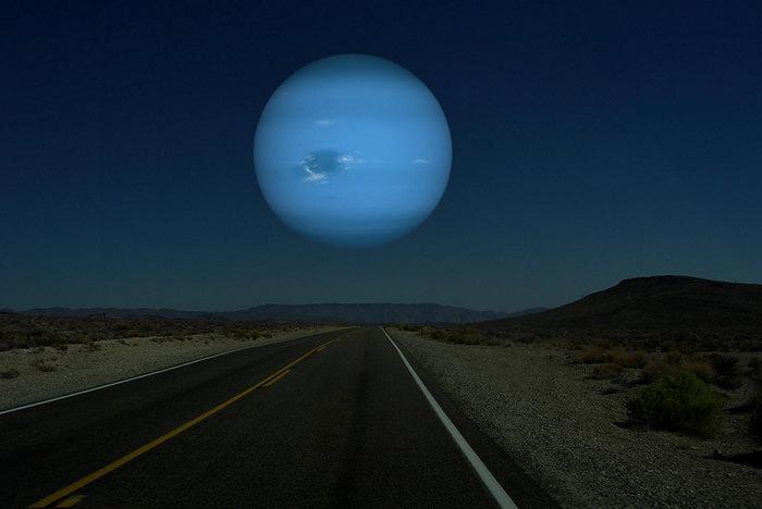 Рон Миллер. Фотоманипуляции. Нептун