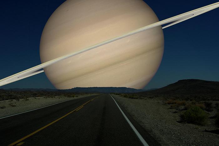 Рон Миллер. Сатурн. Фотоманипуляции.