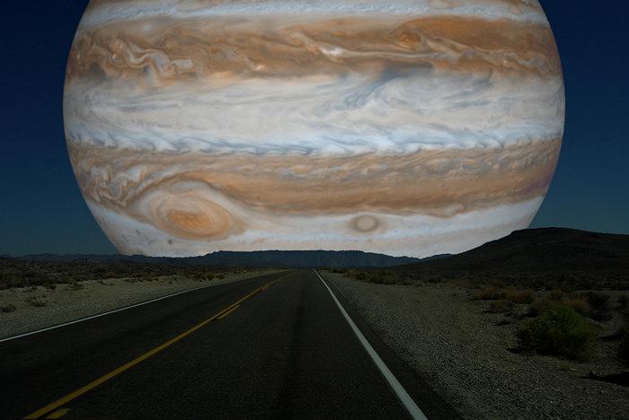 Рон Миллер. Фотоманипуляции. Юпитер.
