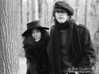 Джон Леннон и Йоко Оно, 1973