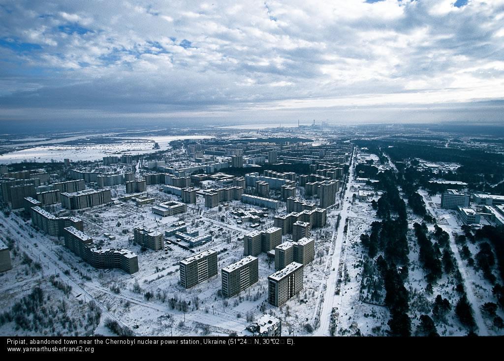 Припять, заброшенный город возле АЭС