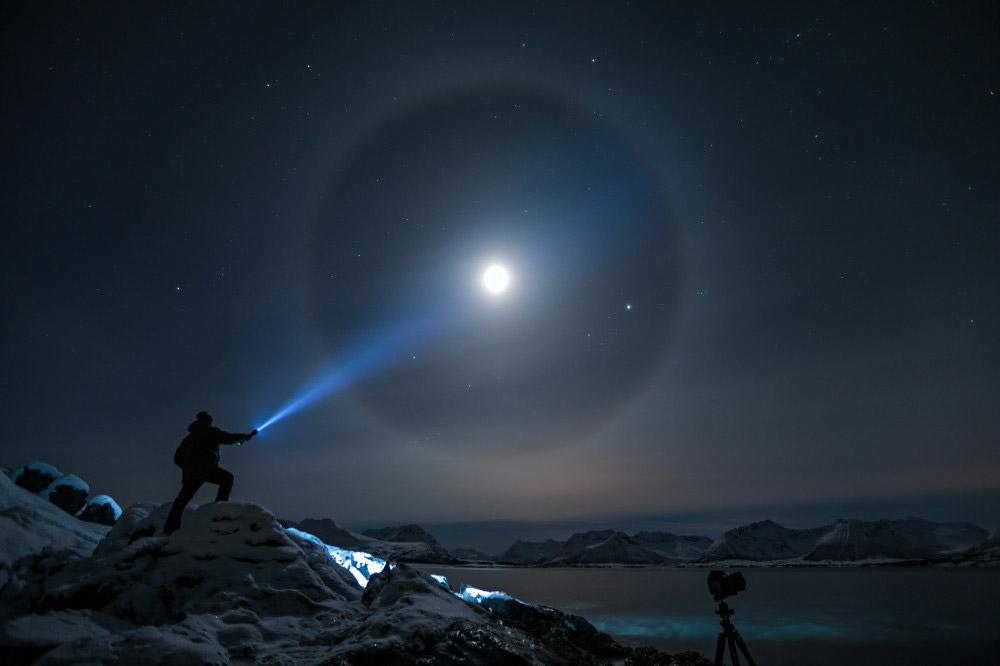 Лунное гало. Стивен Нильсен